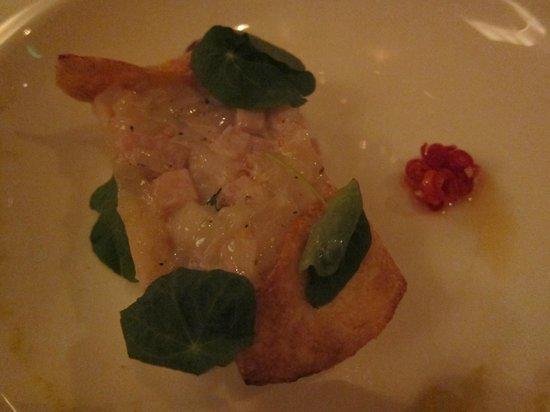 M Restaurant: Vieiras
