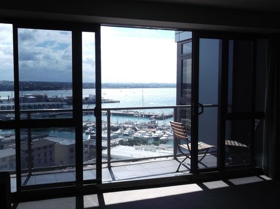 Grand Chancellor Auckland Hotel: beautiful views