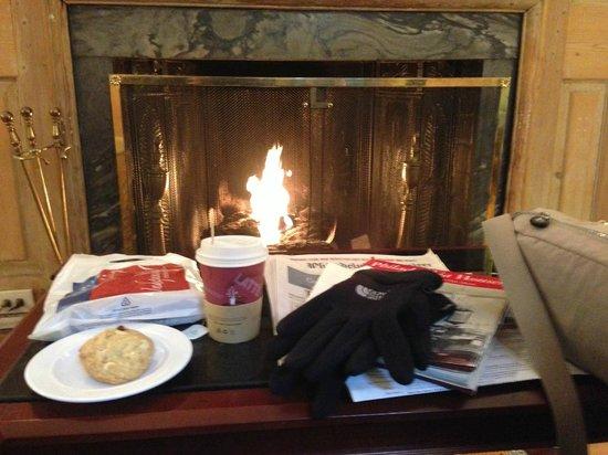 Morris House Hotel: Un café calentito y una galleta al volver por la tarde