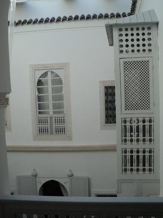 Riad Chi-Chi : The courtyard