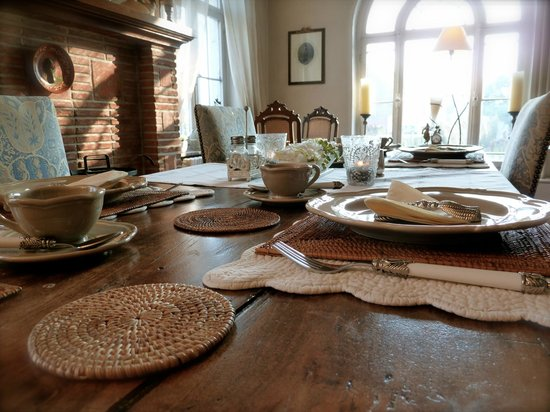 Sterckxhof: Breakfast room