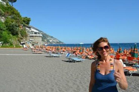 Hotel Eden Roc: spiaggia