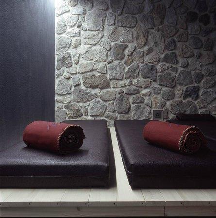 Hotel Eiger Grindelwald: Ruhebereich Saunalandschaft