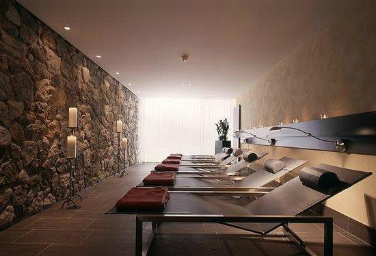 Hotel Eiger Grindelwald: Ruheraum Saunalandschaft