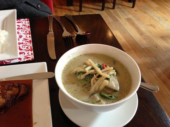 Jicsaw Thai Restaurant: Chicken Thai Green Curry