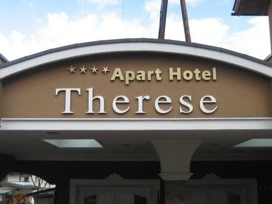 Apart Hotel garni Therese: Hotel entrance