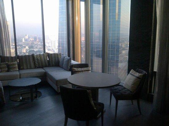 SO Sofitel Bangkok: lounge room in level 28 suite