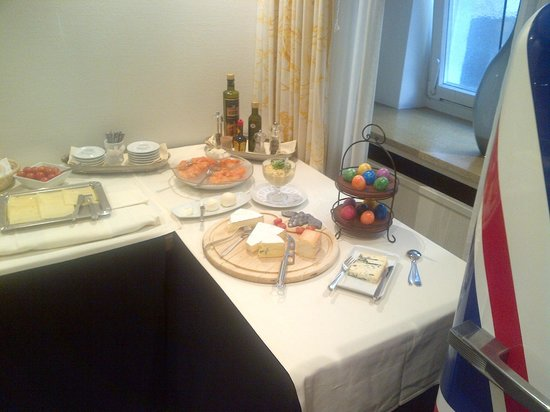 Hotel Waldhorn: Frühstücksbuffet