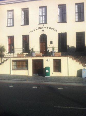 Cape Heritage Hotel: hotel