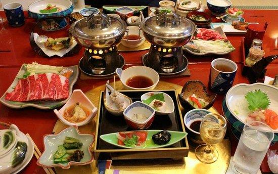 Senshinkan Matsuya: Take course for dinner