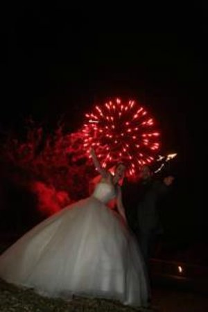 Offley Place Country House: fireworks in grounds