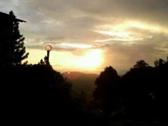 Celyn Resort Kinabalu: Sunrise from the balcony