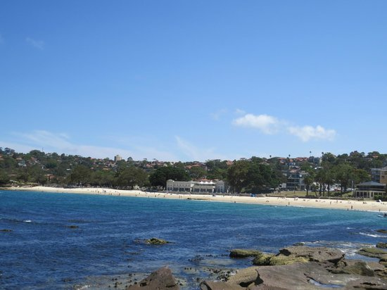 Balmoral: Edwards beach - view from end