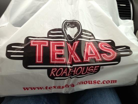 Texas Roadhouse: bought rolls just to eat at home