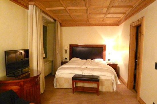 Grand Hotel Kronenhof: Standard Double Room