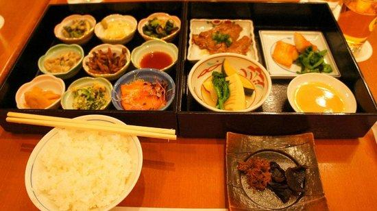 Aranvert Hotel Kyoto: ディナー おばんざい弁当