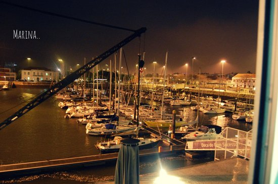 Altis Belém Hotel & Spa: Vue sur la marina