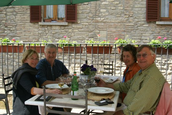 La Locanda del Capitano: A very enjoyable lunch was had by all