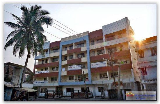 Hotel Rohini International Digha: The side Elevation