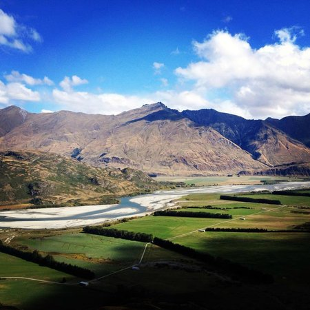 Ridgeline Adventures: View of the Matukituki River