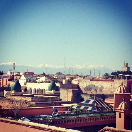 MonRiad: Dalla terrazza del riad