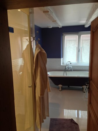 Bietlenheim, France : huge bathroom with shower