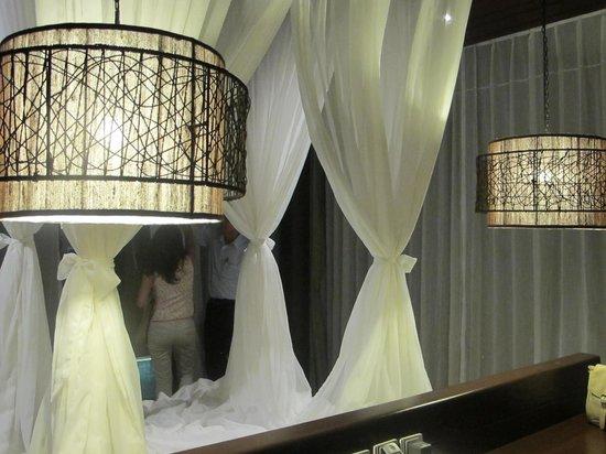 The Vijitt Resort Phuket: very chic furniture