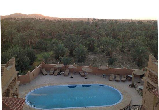 Riad Nezha: Vue de la terrasse