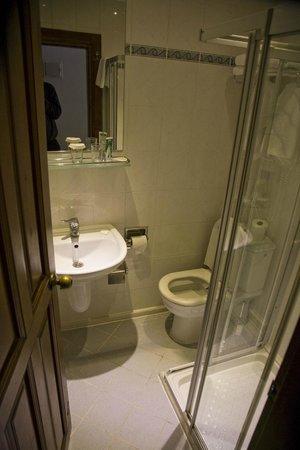 Alp Pasa Hotel: Badezimmer vom ersten Zimmer