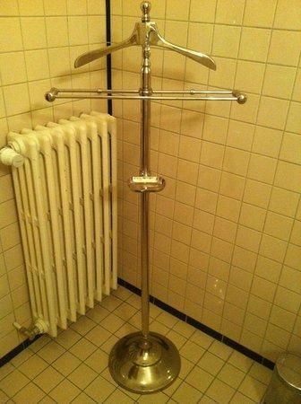 Hotel Le Berger: Porte draps de bain