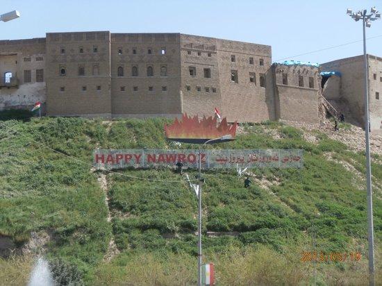 Erbil Tower Hotel: the citadel, Erbil