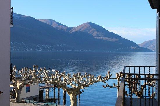 Hotel Schiff-Battello Ascona : Aussicht aus dem Zimmer