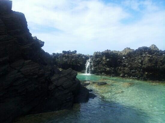 Tan Tan Tours : Tidal Pools of St Croix while on Tan Tan tour.