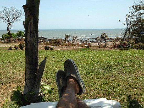 Bull Beach: silla de descanso