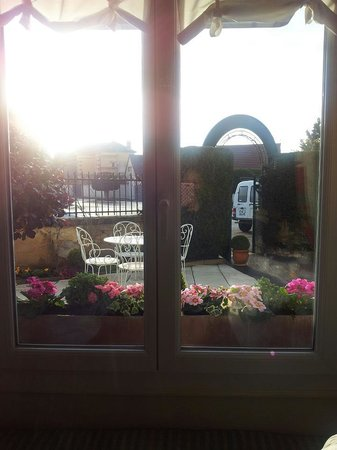 Villa Fleurie : View from dining room