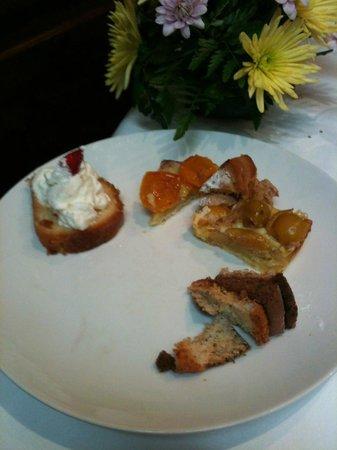 Restaurant Vatel : ma deuxieme assiette de dessert