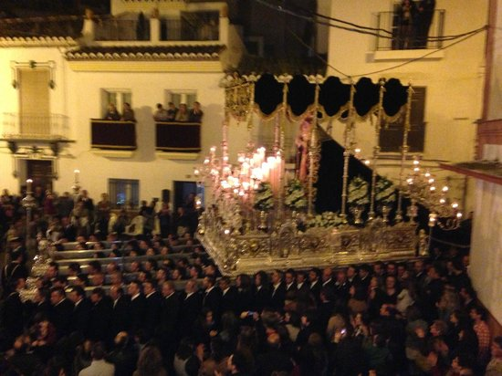 Hotel Palacio Blanco: Semana Santa 2013 in the streets of Velez-Malaga