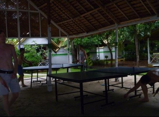 Lime n Soda Beach Front Resort: Ping pong tables