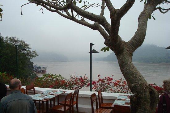 The Grand Luang Prabang Hotel & Resort: Blick auf Mekong