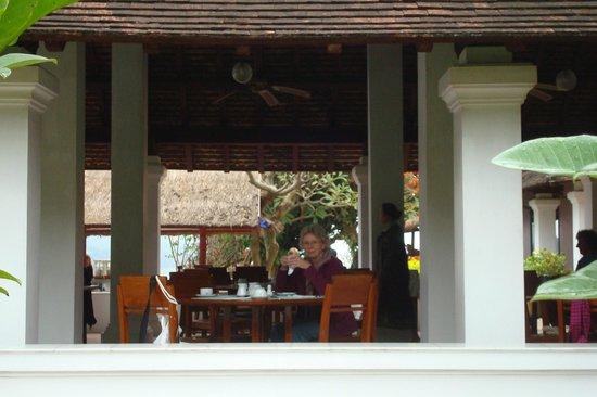 The Grand Luang Prabang Hotel & Resort: beim Frühstück