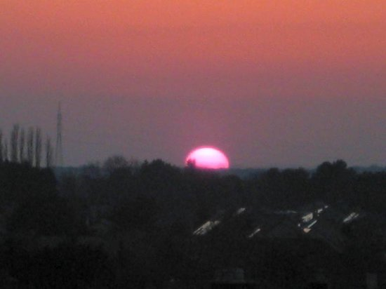 Apart Hotel Corbie Lommel : Sunset to die for