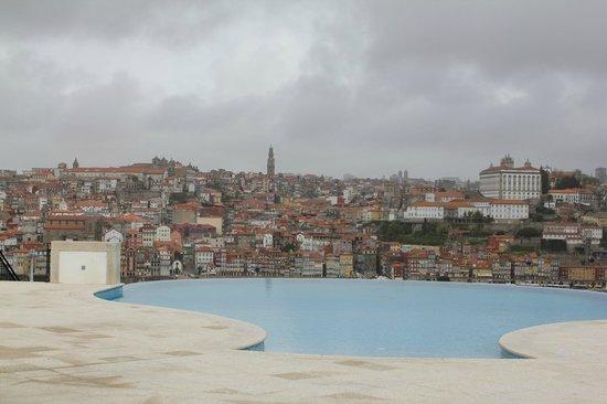 The Yeatman: Oporto desde la piscina exterior