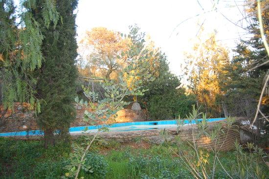 El Berrocal: la piscina
