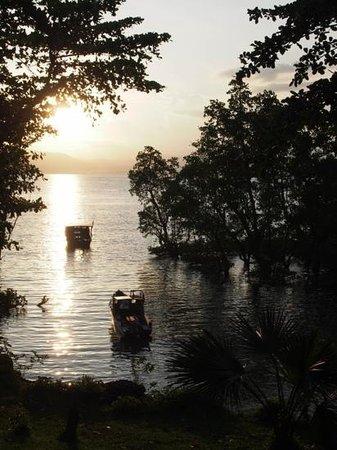 Bunaken SeaGarden Resort: uitzicht vanuit het restaurant
