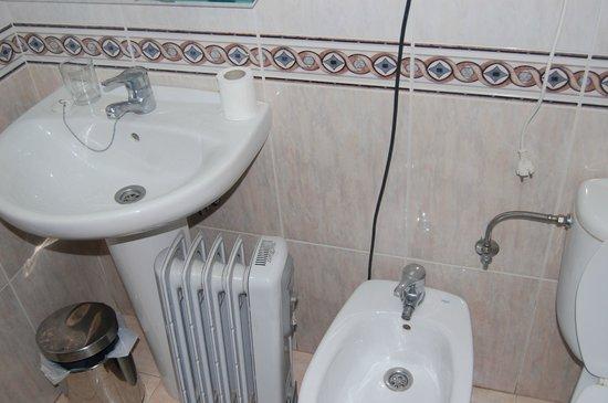 Hotel Aguila Real: radiador adiccional