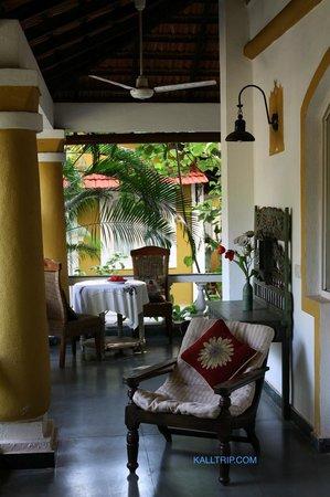 Casa Anjuna: Sitout For Room