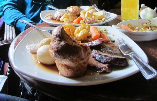The Travellers Rest Inn : Sunday roast dinners