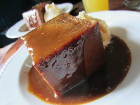 The Travellers Rest Inn: Sticky toffee pudding