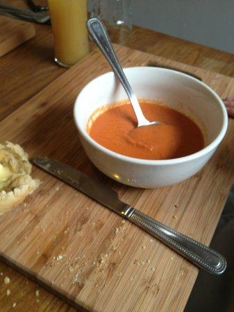 The Golden Fleece: Tomato soup