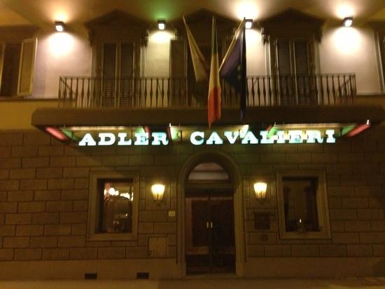 Adler Cavalieri: Very close to the train station